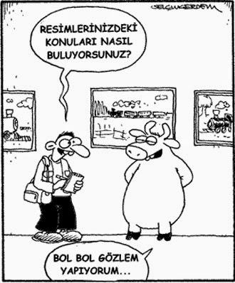 Gözlem Karikatürü